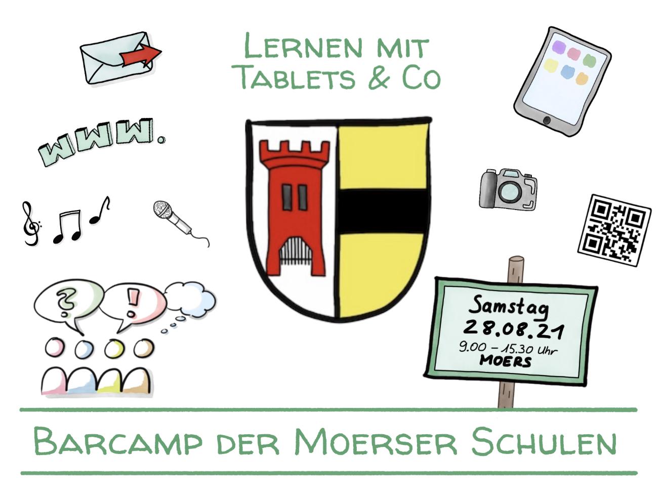 Plakat Barcamp Moers